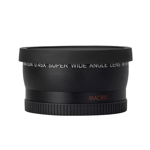 Andoer HD 52MM 0.45x Objectif Grand Angle avec Objectif Macro pour Canon Nikon Sony Pentax 52MM DSLR