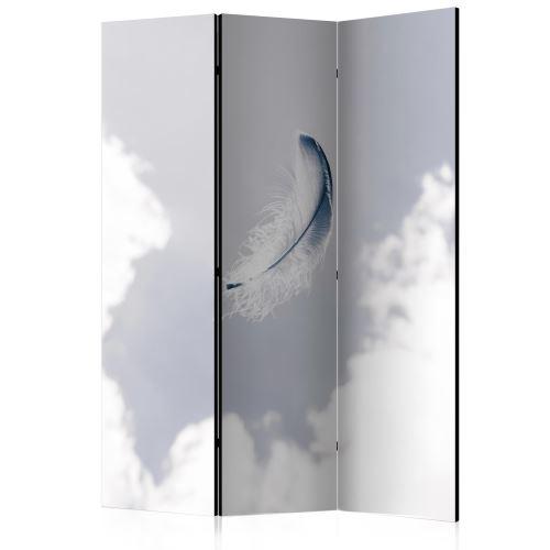 Paravent 3 volets - Angelic Feather [Room Dividers] - Décoration, image, art | 135x172 cm |