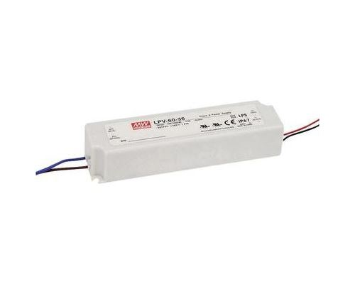 Driver led mean well lpv-60-12