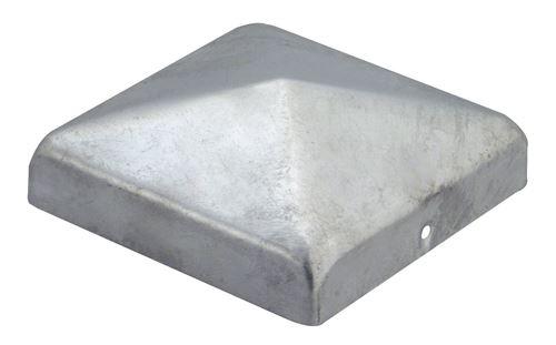 GAH Alberts poteaux Capuchon pour poteaux en bois 70 x 70 mm Plate, galvanisé 20580 5.