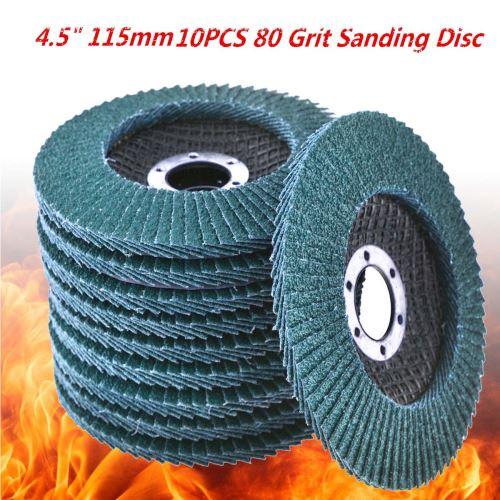 1pcs 80 meules de grain disques à lamelles 115mm 4.5 80 mesh