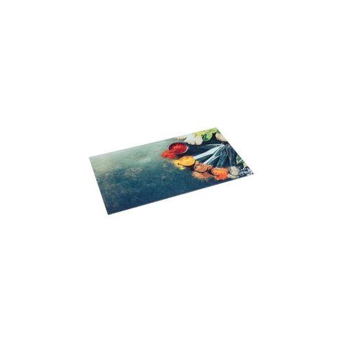 Planche à Découper Verre Épices 30x52cm Multicolore