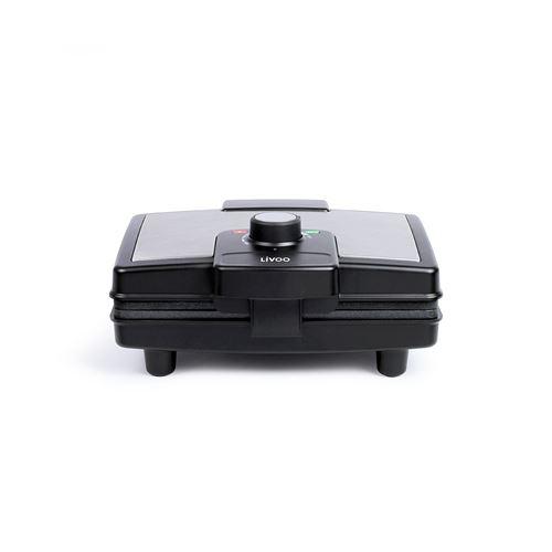 Livoo DOP217 - Gaufrier - 800 Watt - noir/gris