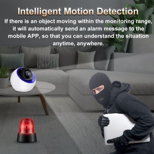 Smart Home Security Camera System Night