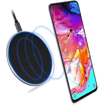 Chargeur sans Fil QI Wireless à Induction Xiaomi Mi 9T / Mi 9T PRO - Station de Chargement Fast Charge avec Patch de compatibilité (récepteur de charge) inclus Xiaomi Mi9T / Mi9T PRO