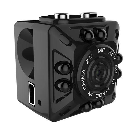 Andoer SQ10 Mini Caméra Caméscope Infrarouge Enregistreur Full HD 1080P Micro DV Motion Capteur USB