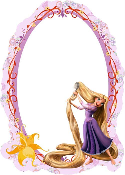 Miroir Princesse Raiponce Disney