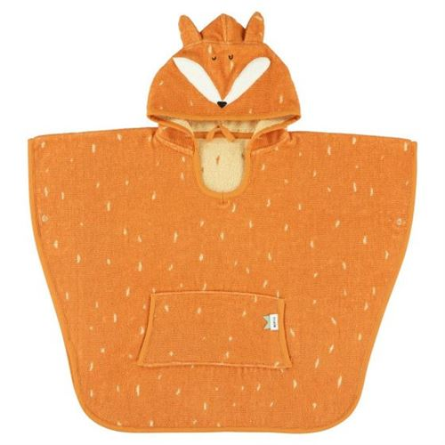 Trixie poncho Mr. Fox64 x 47 cm coton biologique orange