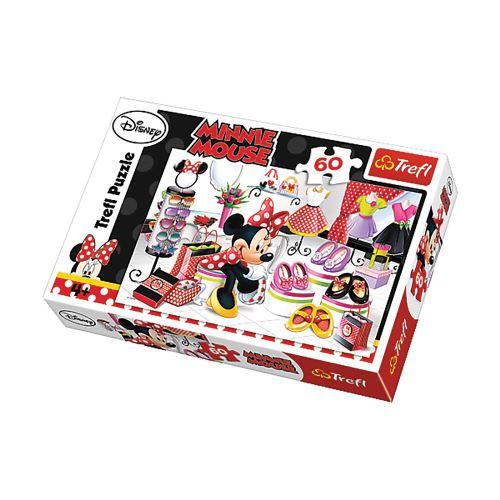 Puzzle Minnie Journée Shopping - + 4 ans - 60 pièces