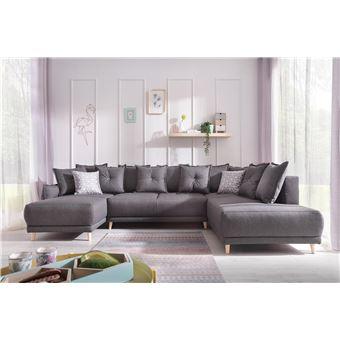 1050 sur bobochic lena canap d angle panoramique. Black Bedroom Furniture Sets. Home Design Ideas