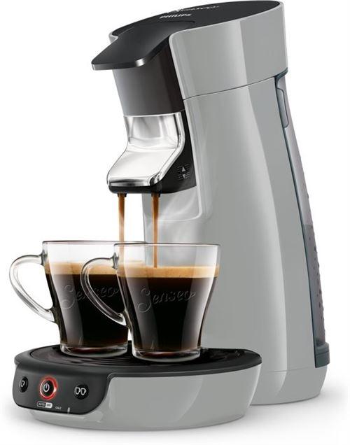 Philips HD6561 / 60 Senseo Viva Café Cafetière 1450W Gris Argenté