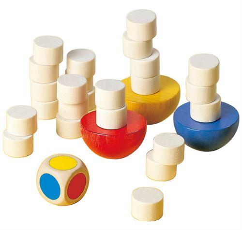 Selecta Spielzeug jeu d'empilage Balancejunior bois 29 pièces