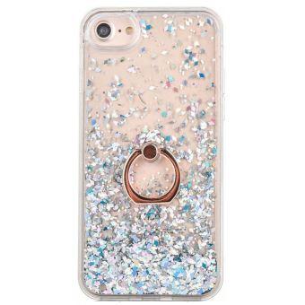 coque iphone 6 transparente paillette