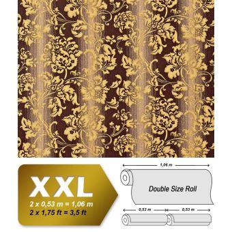 Papier Peint Fleurs Xxl De Luxe Intisse Edem 921 36 Dessin Baroque