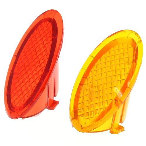Capots de voyant rouge + orange pour Nettoyeur vapeur Bestron