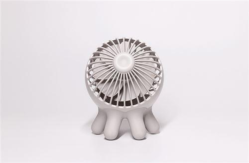 MUID Ventilateur de poche Octopus Mini USB blanc