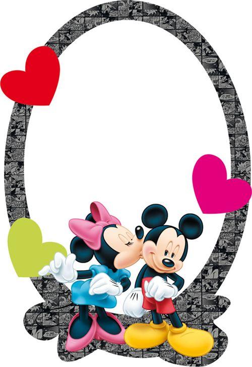 Miroir Disney Mickey et Minnie
