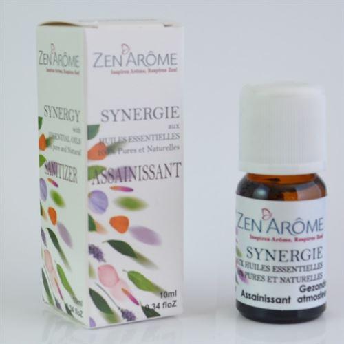 Synergie d'huiles essentielles ASSAINISSANT - 10 ml