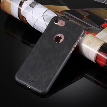 9ecd188df9 Coque pour iphone 8 et 7 crazy horse texture cuir surface pc housse de  protection etui arrière noir mofi - Etui pour téléphone mobile - Achat &  prix | fnac