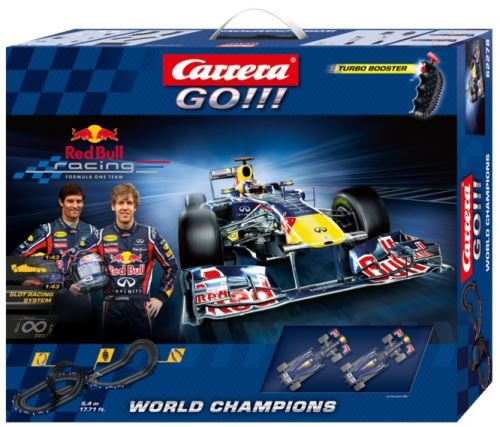Circuit world champions red bull packaging design