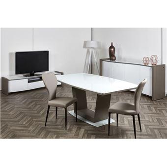 Chloé Design Chaise design VICTORINE Gris Par 2