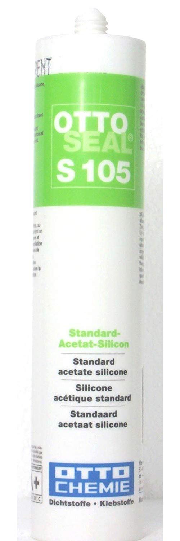 OttoSeal s105, l'autre permet de silicone 310 ml (diverses couleurs), Transparent