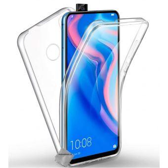 Protection intégrale 360°: Coque silicone gel + Film verre