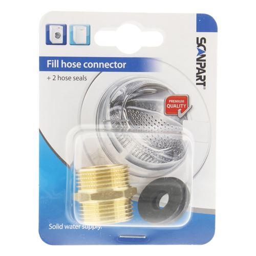 Scanpart 1132710003 Tuyau d'alimentation Connector Set Bronze