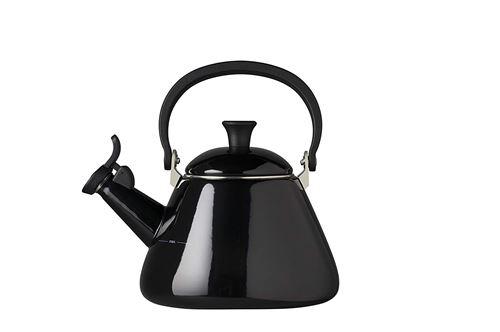 Le Creuset Bouilloire kone en acier émaillé 1,6L noir