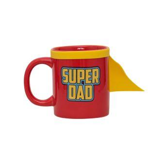 mieux aimé section spéciale magasiner pour le luxe Thumbs Up! - Super Dad Mug - Tasse Céramique avec Une Cape de Super-héro -  Rouge/Jaune - 350ml - 1001744