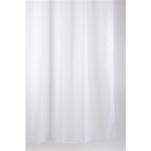 Rideau de douche Albin - 120 x 200 cm - Blanc