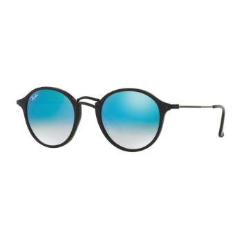 lunette ray ban bleu miroir