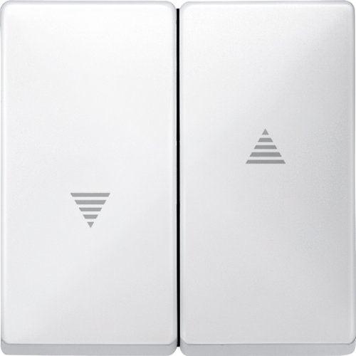 Merten 411519 Wippe für Rollladenschalter und -taster, polarweiß, System Fläche