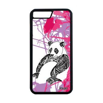 coque iphone 8 plus silicone panda