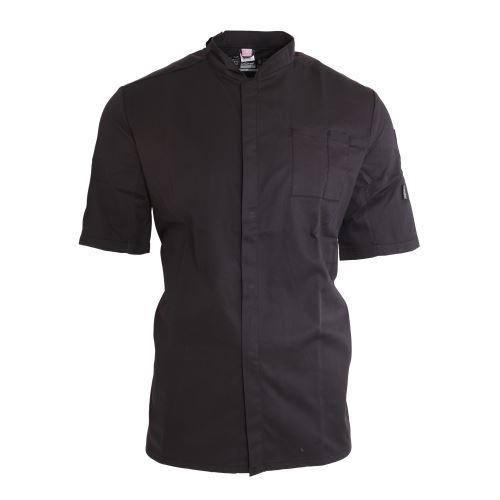Le Chef - Veste de cuisinier ThermoCool - Unisexe (2XL) (Noir/Noir) - UTPC2704