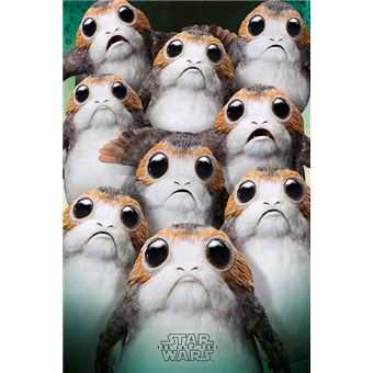 Star Wars - The Last Jedi (Many Porgs) - 61x91,5 cm - AFFICHE / POSTER
