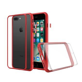 Coque RhinoShield Mod NX pour iPhone 7 Plus / 8 Plus - Rouge