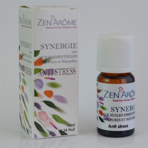 Synergie d'huiles essentielles ANTI-STRESS - 10 ml