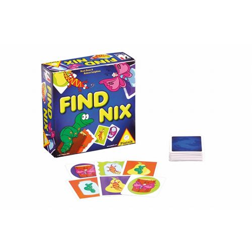 PIATNIK Jeux - Find Nix Hc Multicolore