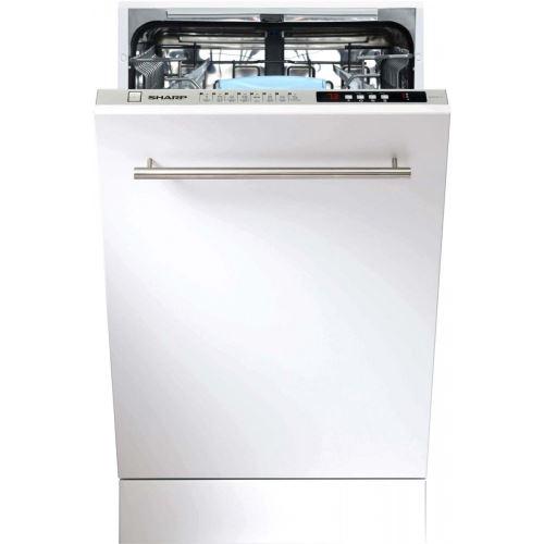 Sharp Lave Vaisselle Tout Integrable 45 Cm Sharp Qws 32 I 472 X