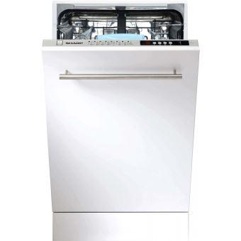 sharp lave vaisselle tout integrable 45 cm shar achat. Black Bedroom Furniture Sets. Home Design Ideas