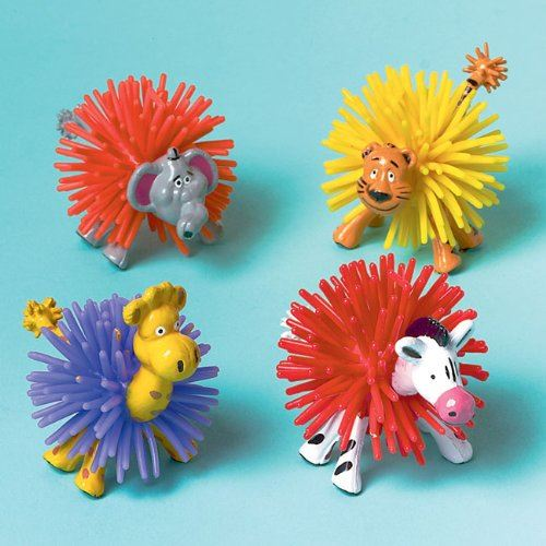 Amscan Bouteille 8-wooly Zoo animaux