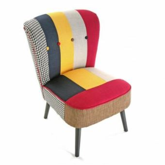 Chaise Fauteuil Patchwork