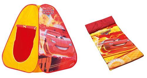 Cars Pop Up Combo Tente+sac De Couchage