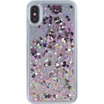 iphone x coque paillette