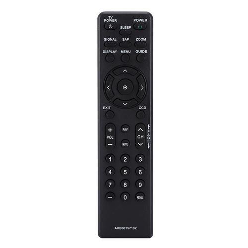 Télécommande de remplacement pour téléviseur LCD LG AKB36157102