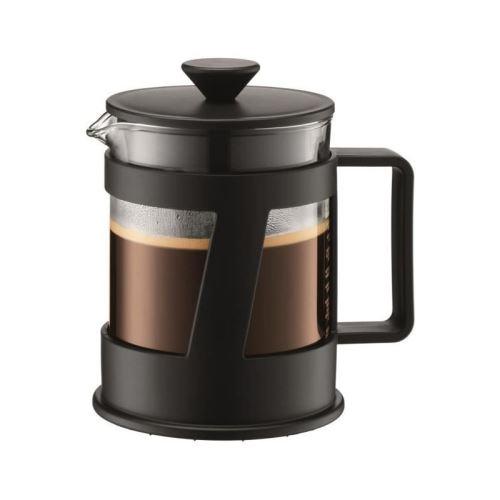 bodum crema cafetiere a piston capacité 4 tasses 0,5l noir
