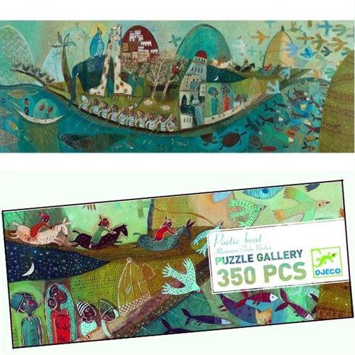 Puzzle Djeco Gallery La Barque Poétique 350 Pcs 7 Ans +