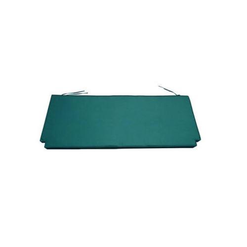 Coussin vert pour banc 150 cm