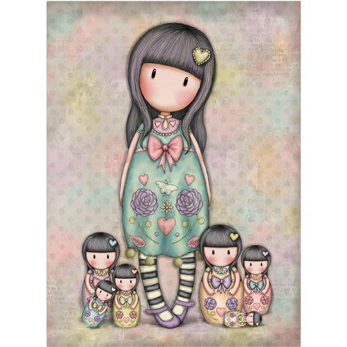 Seven Sisters Carte postale avec enveloppe